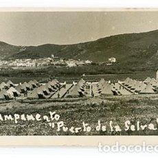 Postales: GIRONA PUERTO DE LA SELVA CAMPAMENTO. POSTAL FOTOGRÁFICA, ESCRITA. Lote 97320939