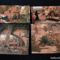 Postales: MONESTIR DE SOLIUS MUSEO DE BELENES 12 POSTALES. Lote 97417523