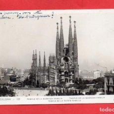 Postales: BARCELONA. 132 TEMPLE SAGRADA FAMILIA. ORIOL. Lote 97621987