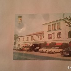 Postales: POSTAL ALCANAR TARRAGONA HOTEL BIARRITZ ENTRADA PRINCIPAL SIN CIRCULAR. Lote 97786786
