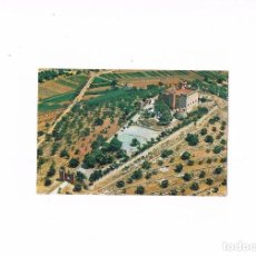 Postales: POSTAL ANTIGUA BARCELONA SIN CIRCULAR CASTELLDEFELS VISTA AEREA DEL CASTILLO. Lote 97940367