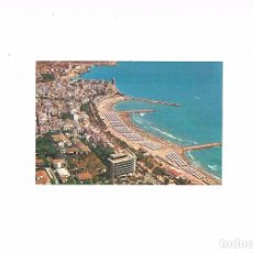 Postales: POSTAL ANTIGUA BARCELONA SIN CIRCULAR SITGES VISTA AEREA . Lote 97941171