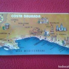 Postales: ACORDEÓN TIRA BLOC 21 FOTOS COLOR SALOU TARRAGONA COSTA DAURADA DORADA FISA VER FOTO/S DESCRIPCIÓN. Lote 98066455