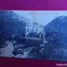 Postales: TARJETA POSTAL. FIGARÓ. ROQUES D'EN GUILLEM I CASA RUBINAT. THOMAS. Lote 98066567