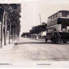 Postales: BARCELONA SANT JUST DESVERN. 11 RAMBLA MODOLELL FOTOGRÁFICA - CIRCULADA - VER REVERSO. Lote 98114691