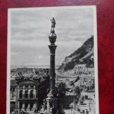 Postales: TARJETA POSTAL BARCELONA 74 MONUMENTO A COLON - ZERKOWITZ. Lote 98147631