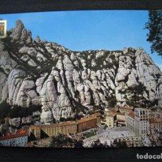 Postales: POSTAL MONTSERRAT - VISTA GENERAL DEL SANTUARIO - CIRCULADA.. Lote 98197615