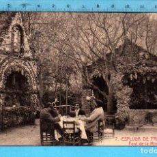 Postales: POSTAL ESPLUGA DE FRANCOLÍ FONT DE LA MINA Nº 7 EDITÓ L. ROISIN SIN CIRCULAR. Lote 98206671