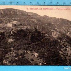 Postales: POSTAL ESPLUGA DE FRANCOLÍ VISTA GENERAL DE LA PEÑA Nº11 EDITÓ L. ROISIN SIN CIRCULAR. Lote 98206847