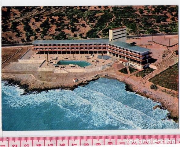 D50 POSTAL PUBLICITARIA GRAN HOTEL CARLOS III DE ALCANAR AÑO 1965 PLAYA TARRAGONA (Postales - España - Cataluña Moderna (desde 1940))