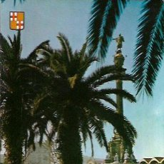 Postales: POSTAL * BARCELONA , MONUMENT A COLON * 1962. Lote 98494263