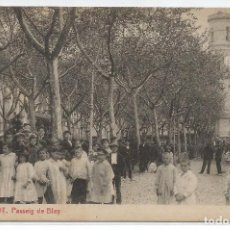 Postales: OLOT .- Nº 97 .- PASSEIG DE BLAY .- EDICIO E. ARQUES . Lote 98628447