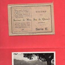 Postales: BERGA. SANTUARI DE NTRA SRA DE QUERALT. 11 POSTALS. Lote 98774347