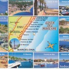 Postales: (6602) COSTA DEL MARESME. ARENYS, SANT POL, CALDES, EL MASNOU, VILASSAR, MALGRAT. Lote 98804295