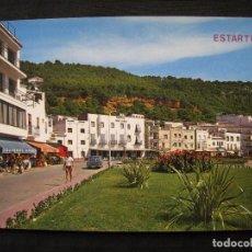Postales: POSTAL COSTA BRAVA - ESTARTIT - JARDINES Y VISTA PARCIAL.. Lote 98855275