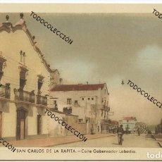 Postales: SAN CARLOS DE LA RAPITA / SANT CARLES DE LA RÀPITA (TARRAGONA). 7. CALLE GOBERNADOR LABADIA. Lote 98873479