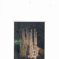 Postales: POSTAL ANTIGUA SIN CIRCULAR CATALUÑA BARCELONA SAGRADA FAMILIA ESCRITA POR DETRAS. Lote 98953515