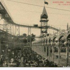 Postales: BARCELONA-SATURNO PARQUE -CAFÉ AL AIRE LIBRE- ROISIN Nº 10. Lote 99194139