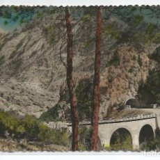 Postales: COLL DE NARGÓ .- OLIANA .- PONT DE LA MALA MULLER .- FOTO JANOT . Lote 99216167