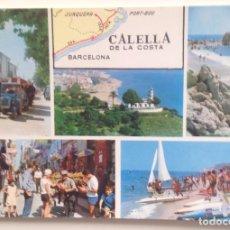 Postales: Nº 35 CALELLA DE LA COSTA :VISTAS DE POBLACIÓN /FOTO.J.PLANCHART. Lote 99360003
