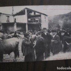 Postales: POSTAL ANTIGUA- SORT - FIRAL DELS BOUS Y MOLA VELLA -VER FOTOS - (50.396). Lote 99658447
