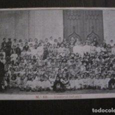Postales: POSTAL ANTIGUA- CANET - FESTES CORONACIO NTRA. SRA. MISERICORDIA -VER FOTOS - (50.395). Lote 99658563