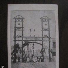 Postales: POSTAL ANTIGUA- CANET - FESTES CORONACIO NTRA. SRA. MISERICORDIA -VER FOTOS - (50.393). Lote 99658651