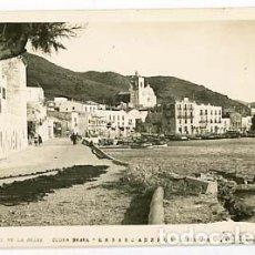 Postales: GIRONA COSTA BRAVA PORT DE LA SELVA EMBARCADEROS. C. BENEJAM. FOTO PUIGNAU. POSTAL FOTOGRÁFICA. Lote 119838563