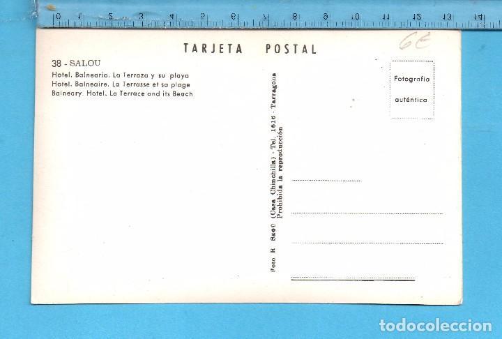 Postales: Postal de Salou Hotel Balneario La Terraza y su Playa Nº 38 Editó Casa Chinchilla Sin Circular - Foto 2 - 99872703