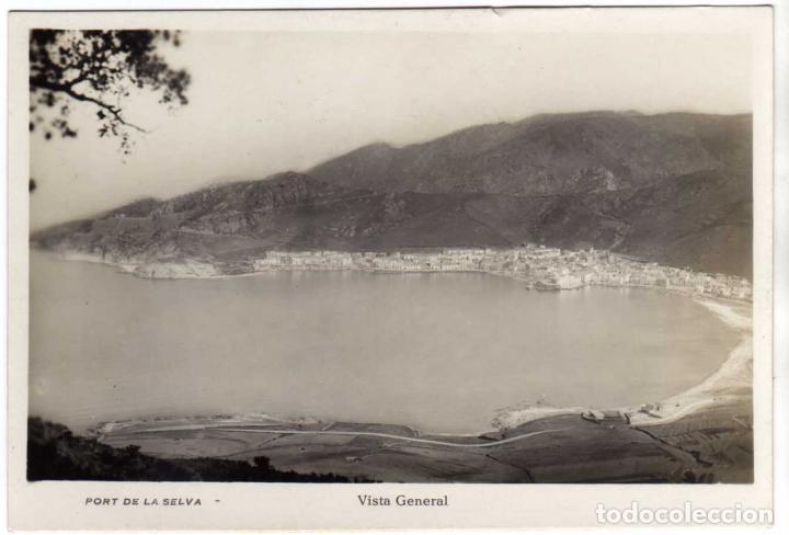 BONITA POSTAL - PORT DE LA SELVA (GIRONA) - VISTA GENERAL (Postales - España - Cataluña Antigua (hasta 1939))