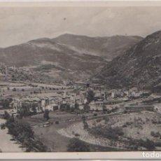 Postales: SORT (LERIDA) - VISTA GENERAL Y RIO NOGUERA PALLARESA. Lote 100009491