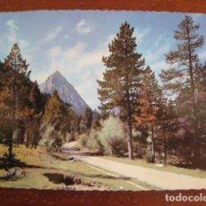 Postales: AÑO 1962 POSTAL PIRINEOS DE LERIDA. EL PALLARS VALLE DE ESPOT CAMINO DE SAN MAURICIO CIRCULADA SELLO. Lote 100061771