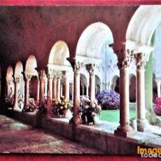 Postales: GERONA. 9 CLAUSTROS ROMÁNICOS, S. XII. CARRERA DE LA RED. NUEVA. Lote 100487976