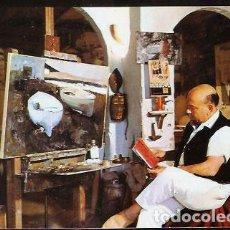 Postales: POSTAL * LLANSÁ ,EL PINTOR J. MARTINEZ LOZANO * 1971. Lote 100573887