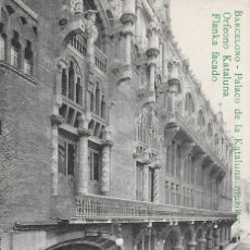 Postales: P- 7661. POSTAL BARCELONO, PALACO DE LA KATALUNA MUSIKO ORFEONO KATALUNA.. Lote 100605047