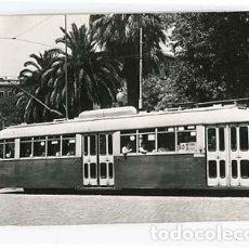 Postales: POSTAL FOTOGRÁFICA BARCELONA PLAZA DE TETUAN TRANVIA MAQUITRANS. SIN CIRCULAR. Lote 100630259