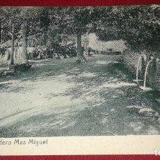 Postales: POSTAL DE VALLS - MERENDERO MAS MIGUEL. Lote 101078019
