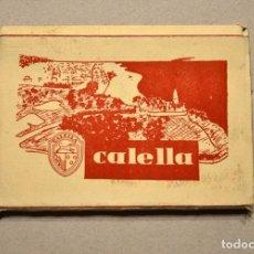 Postales: LIBRO 9 POSTALES CALELLA BARCELONA J.UBARCH PUIG 1959. Lote 101496007