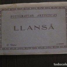 Postales: LLANSA - BLOCK 10 POSTALS LLANSA FOTOGRAFIQUES -A. NEGRE -VER FOTOS - (50.821). Lote 101640511
