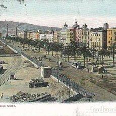 Postales: BARCELONA.PASEO COLÓN.CIRCULADA 1906. Lote 101737795