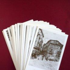 Postales: 50 POSTALES DE LAS CALLES DE BARCELONA - DIONIS BAIXERAS. Lote 178444995