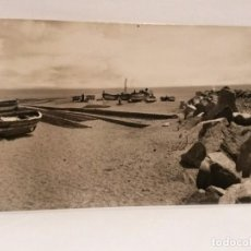 Postales: POSTAL CANET DE MAR PLAYA Nº 11, CV. CIRCULADA 1956.. Lote 102388747