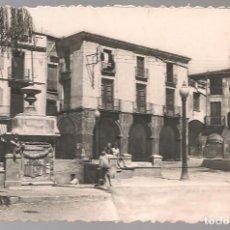 Postais: POSTAL FOTOGRÁFICA OLESA DE MONTSERRAT DETALLE PLAZA NACIONAL, SIN EDITOR. Lote 102571639