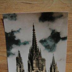 Postales: BARCELONA , CATEDRAL- EDICIONES ZERKOWITZ , COLOREADA. Lote 102817503