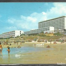 Postales: 33 - MATALASCAYAS ((HUELVA) PLAYA. HOTEL FLAMERO - ED. ARRIBAS 1980 - CIRCULADA -. Lote 102922391