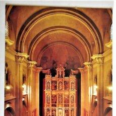 Postales: SANT ANDREU DE LLAVANERES (BARCELONA). ALTAR MAYOR. RETABLO, S. XVII. DIMESIONES: 12X17 CM. ESCUDO D. Lote 103049175