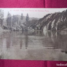 Postales: 10. VILADA. PLATJA DE LA FABRICA DELS GERMANS FERRER. THOMAS. Lote 103091451