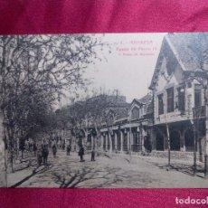 Postales: POSTAL. 4. MANRESA. PASEO DE PEDRO III. ROISIN. Lote 103162331