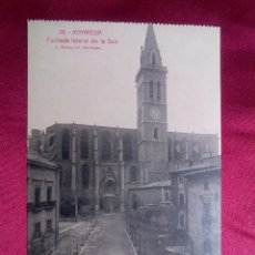 Postales: POSTAL. 16. MANRESA. FACHADA LATERAL DE LA SEO. ROISIN. Lote 103162567