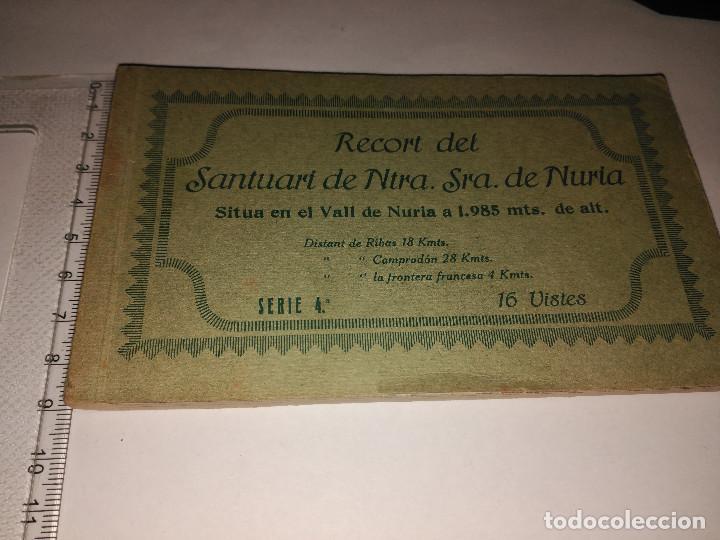 RECUERDO DE VALL DE NÚRIA (Postales - España - Cataluña Antigua (hasta 1939))